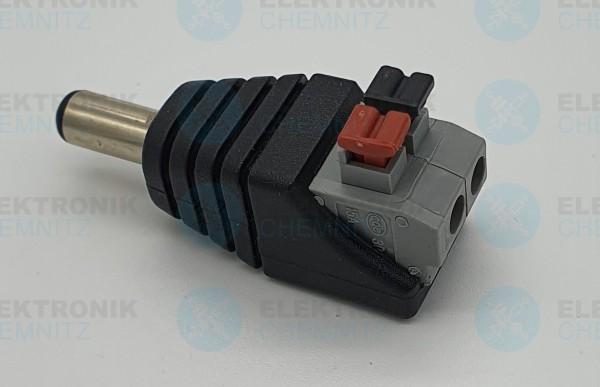 DC Power Anschlussmodul Push In 5,5x2,1 Stecker