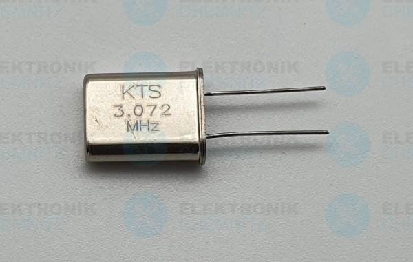 Quarzoszillator KTS 3.072MHz