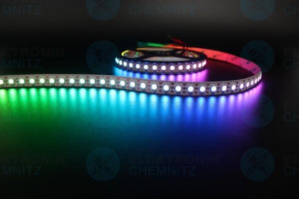 LED Streifen 5050-96-SK6812 digital DC5V RGBW 6000K 96px/m IP20 PCB: weiß 12mm