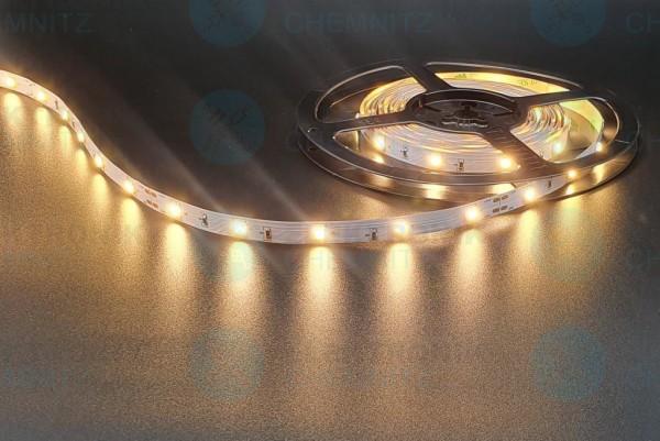 LED Streifen 5050-30-3000K DC24V 7W/m IP20 PCB: weiß 10mm