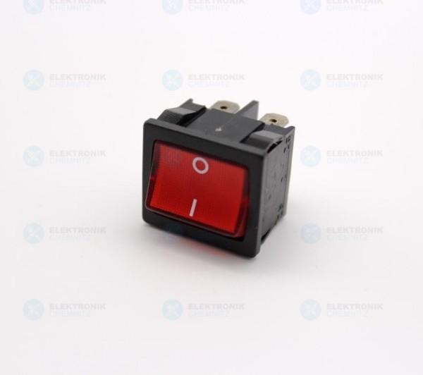 Wippschalter / MQ18057110 250V AC 2-polig