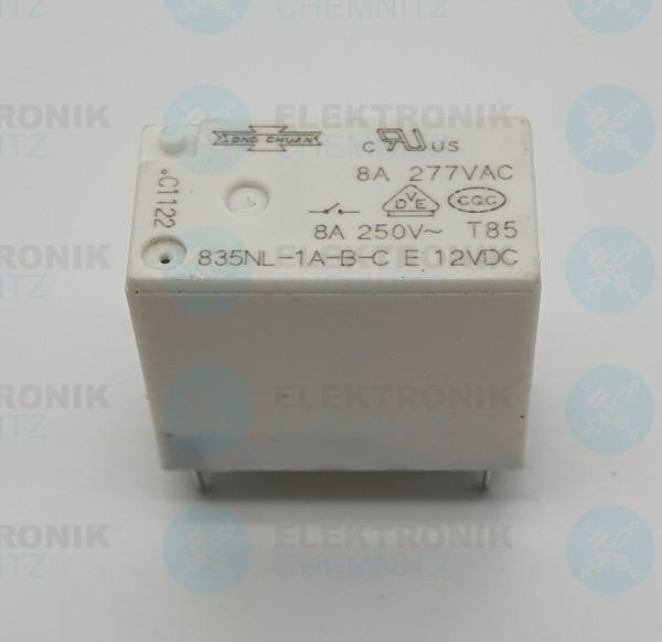 Song Chuan 835NL-1A-B-C E 12VDC Printrelais