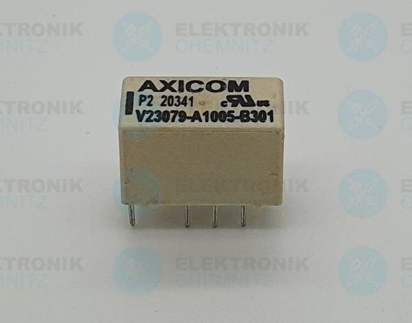 AIXCOM Signalrelais, 24 VDC, DPDT, 2 A, Baureihe P2/V23079