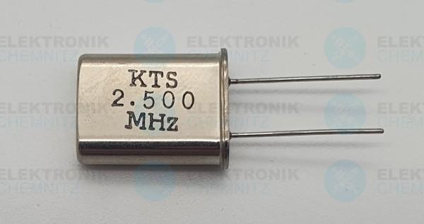 Quarzoszillator KTS 2.5MHz