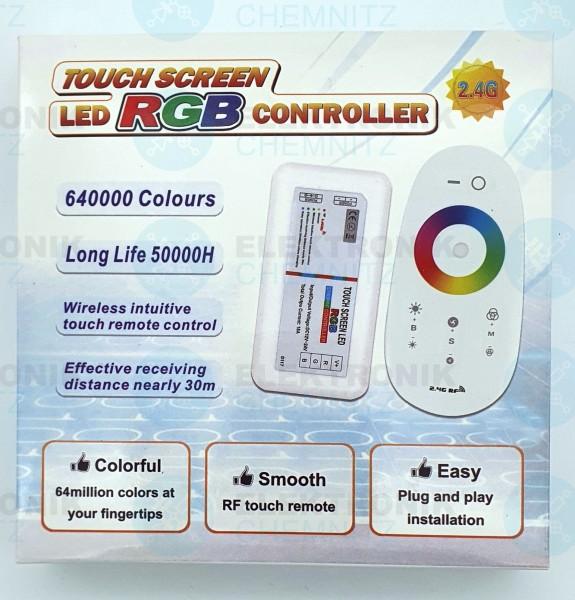LED Stripe Controller RGB RF touch 2,4GHz