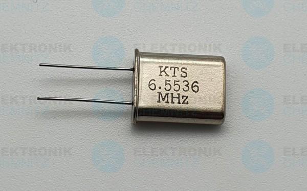 Quarzoszillator KTS 6.5536MHz
