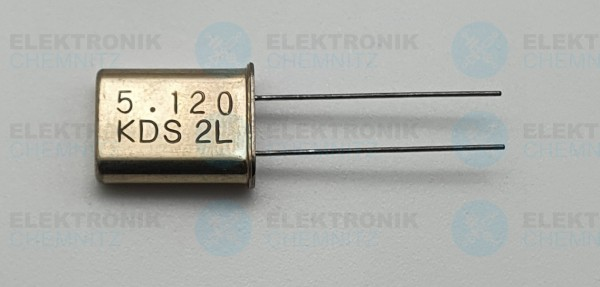Quarzoszillator KDS 5.120MHz