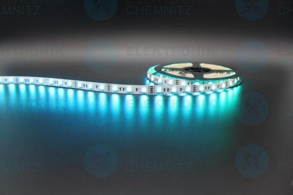 LED Streifen 5050-60 RGB DC12V IP20 PCB: weiß 10mm