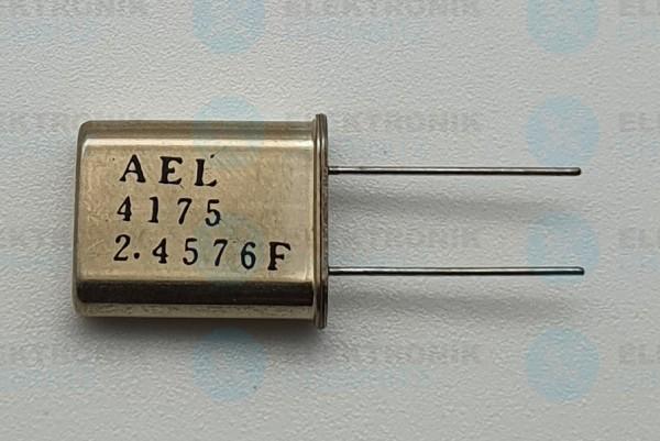 Quarzoszillator AEL 2.4576FMHz 4175