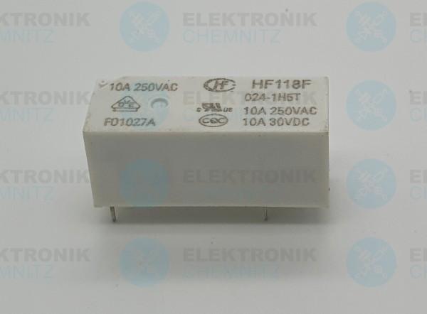 Hongfa Printrelais HF118F 024-1H5T