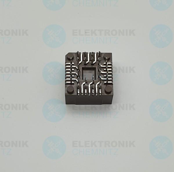 PLCC - IC Fassung/ Sockel 28pin TH
