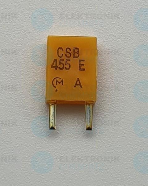 Keramik-Resonator 2 Pin 455KHz CSB455E gelb