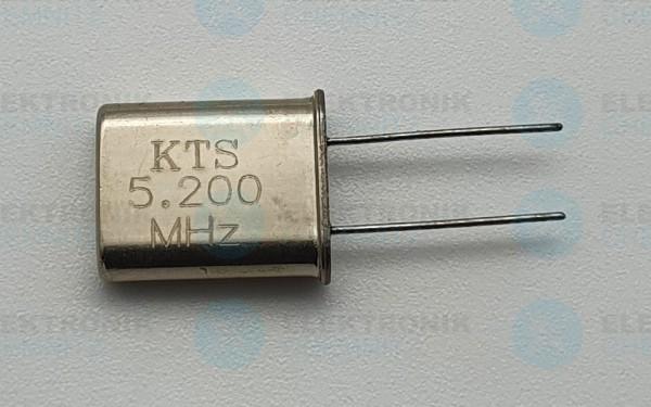 Quarzoszillator KTS 5.200MHz