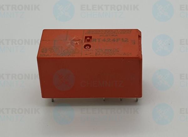 Schrack tyco Bistabiles Printrelais RT424F24 24V 2 Wechsler 16A