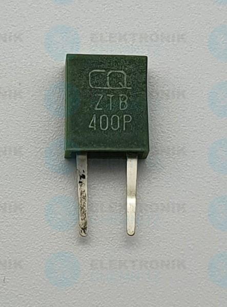 Keramik-Resonator 2 Pin 400KHz ZTB400P grün