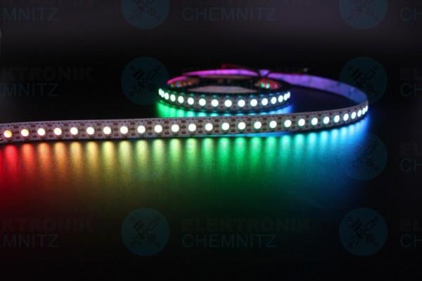 LED Streifen 5050-96-SK6812 digital DC5V RGBW 2800K 96px/m IP20 PCB: weiß 12mm
