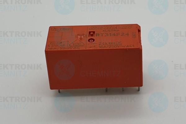 Schrack tyco Bistabiles Printrelais RT314F24 24V 1 Wechsler 16A