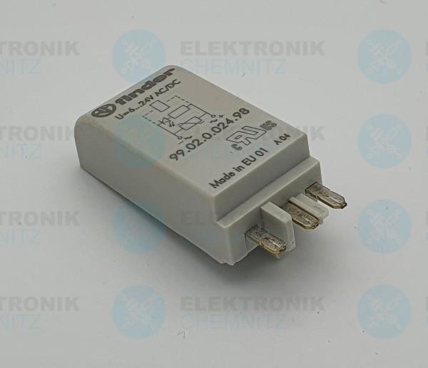 Finder 99.02.0.024.98 LED+Varistormodul
