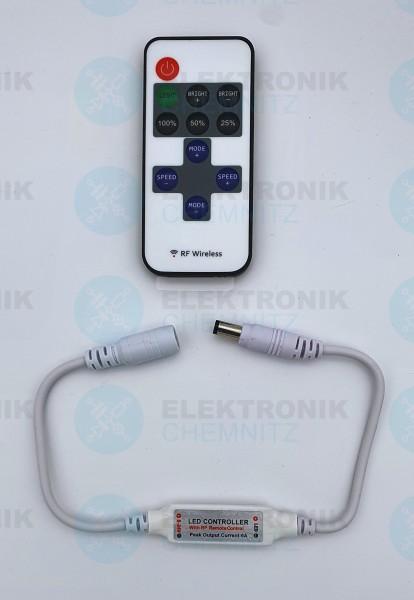 LED Stripe Mini-Controller 1-Kanal RF 2,4GHz