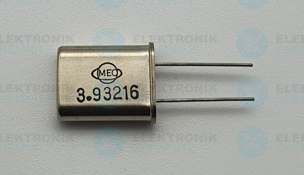 Quarzoszillator MEC 3.93216MHz