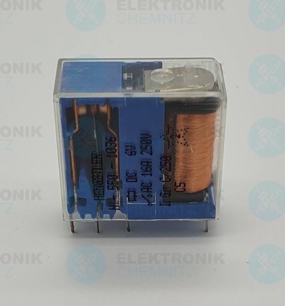 Hengstler Steckrelais H-550-1036 6V