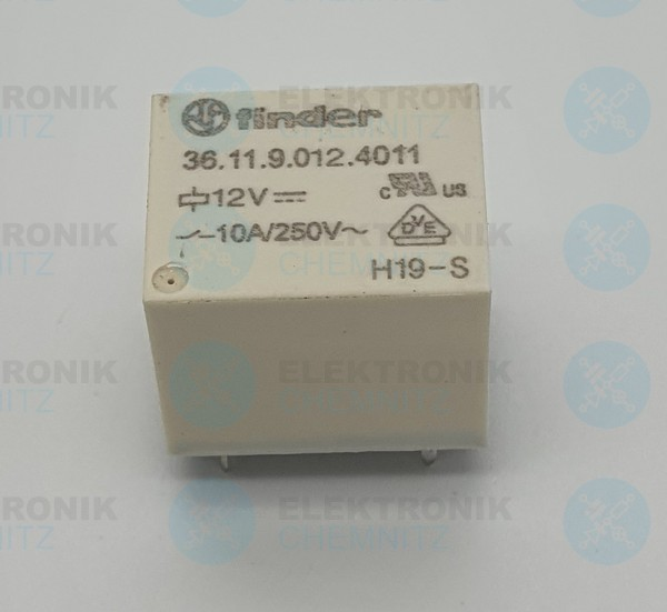 Finder Printrelais 36.11.9.012.4011