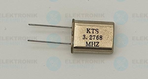 Quarzoszillator KTS 3.2768MHz HC49-U