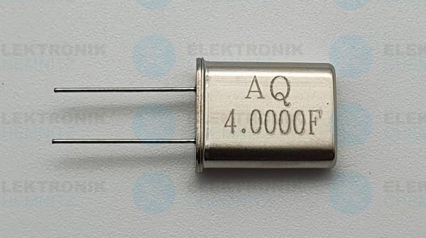 Quarzoszillator AQ 4.000FMHz