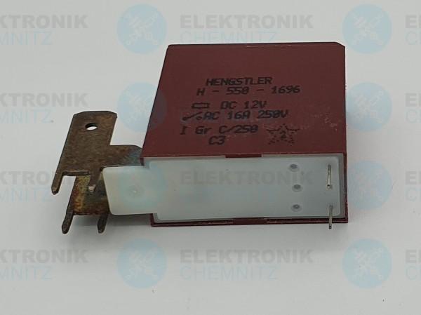 Hengstler Leistungsrelais H550 12V 16A Flachstecker 6,3