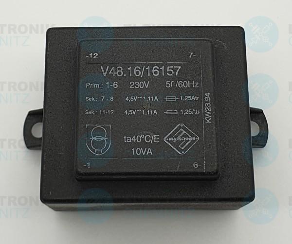 Printtrafo Marschner V48.16/16157 230V 2x4,5V 1100mA