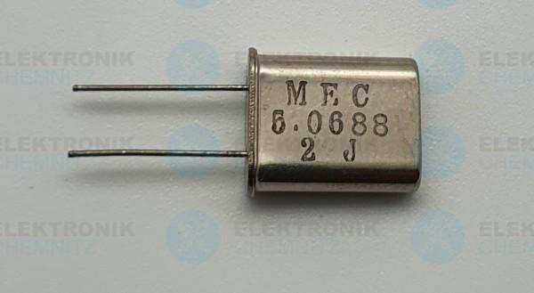 Quarzoszillator MEC 5.0688MHz 2J