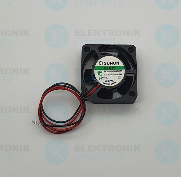 SUNON MagLev MC25101V2-000U-A99 Lüfter 25x25x10 DC12V 0,45W