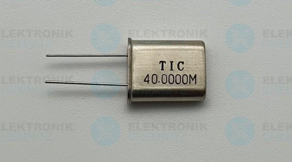 Quarzoszillator TIC 40.0000MHz
