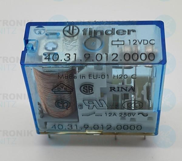 Finder 40.31.9.012.0000 blau