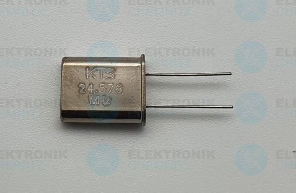 Quarzoszillator KTS 24.576MHz
