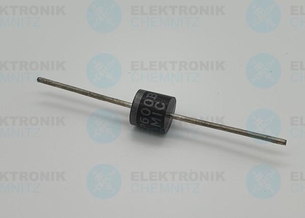 Gleichrichterdiode P600B 100V 6A P7