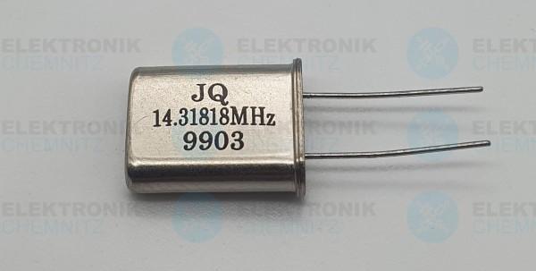 Quarzoszillator JQ 14.31818MHz 9903