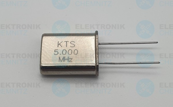 Quarzoszillator KTS 5.000MHz