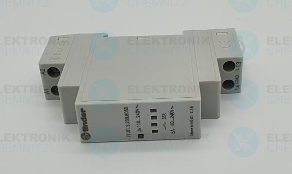 Finder 77.01.8.230.8050 Solid-State-Relais Nulldurchgangschalter 5A 230V