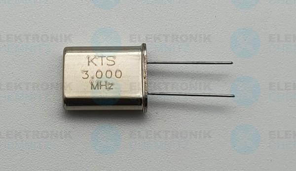 Quarzoszillator KTS 3.000MHz
