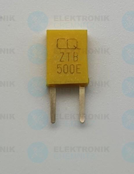 Keramik-Resonator 2 Pin 500KHz ZTB500E gelb