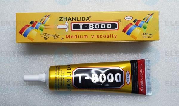 T-8000 Multifunktionskleber ZHANLIDA transparent 50ml