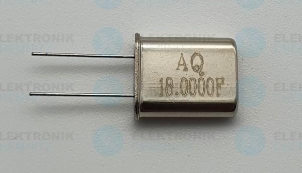 Quarzoszillator AQ 18.000FMHz
