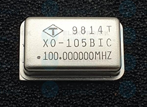 Quarzoszillator 105 BIC 100.000MHz