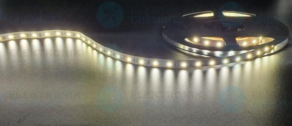 LED Streifen 5050-60-4000K DC24V 12W/m IP20 PCB: weiß 10mm