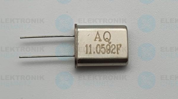 Quarzoszillator AQ 11.0592FMHz