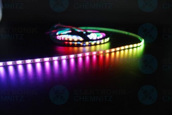 LED Streifen 2020-96-SK6812 digital DC5V RGB 96px/m IP20 PCB: weiß 4mm